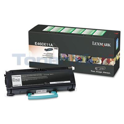 LEXMARK E460DN TONER CARTRIDGE BLACK RP 15K